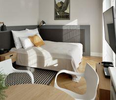 Gallery  Stradonia - elegant apartments in Krakow city   Stradonia  #studio #bed #polishart #ryszardkaja #morning