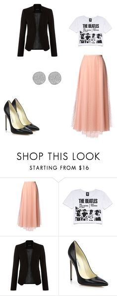 """Untitled #200"" by tiana25 ❤ liked on Polyvore featuring RED Valentino, Forever 21, Brian Atwood and Karen Kane"