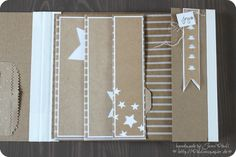 Minialbum 9x11 inch Stampin'Up! fan folded