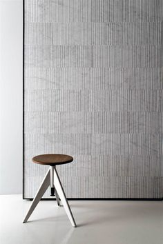 """engraved"" effect on the surface of the marble by Pierro Lissoni for salvatori 