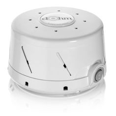 Marpac Dohm is a great subtle sound machine. If you like the sound of a fan but don't want the cool air (especially during the winter) then you'll want this. We have them in every bedroom and they work great to deaden the noise of a crying baby in the next room so your other kids don't wake up :)