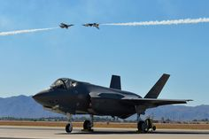 https://flic.kr/p/G5Uh3Z   160403-F-HA566-210   Capt. Nicholas Eberling and Maj. Alex Turner, both pilots for the Thunderbirds, perform the knife-edge pass over an F-35A Lightning II static display during the Luke Air Force Base Air Show at Luke AFB, Ariz., April 3, 2016. (U.S. Air Force photo/Tech. Sgt. Christopher Boitz)