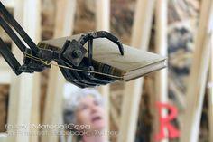 """Storie di altre stanze"" mechanical hand at XXI #laTriennale. #MCaroundSaloni #MDW2016 #MilanDesignWeek #iSaloni"