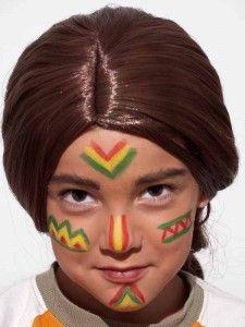 Indianer schminken - Schminkanleitung & Kostüm