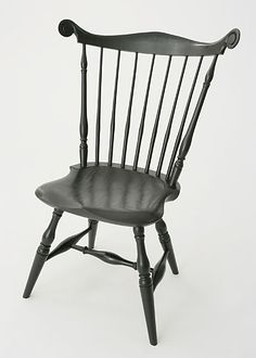 Stephen Swift fanback chair example made by Norm