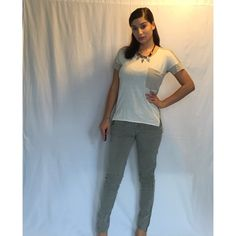 SALEMoto cargo style pant cargo style pale green pant. Zipper at ankle with motto style knees. Slim skinny sized at 7. I'm usually a size 2/3 so they fit a little big on me but I would say it fits more like a 5/6 ❤️Like it? Make an offer. No Trades No PayPal Mossimo Supply Co. Pants