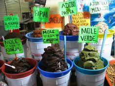 Mercado Jamaica, Mexico City.