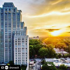 #Repost @droneclt  Amazing sunset shot at the @chaseparkplaza #sunset #sonesta #stlouis #dronestagram #dronephotography