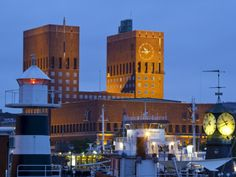 ...Radhuset (Town Hall) and Harbour, Oslo, Norway