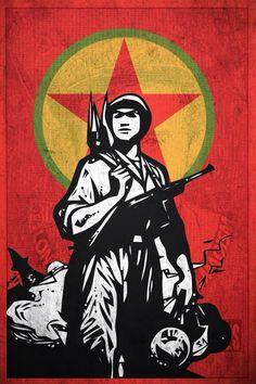 PKK, Partido de los trabajadores del Kurdistan.