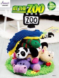 Crochet Zoo Animal Patterns
