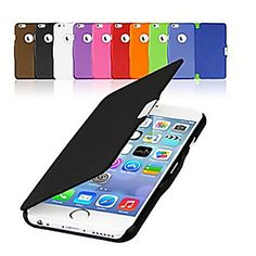 So many colors! <3 Frosted Design Magnetic Buckle Full Body Case for iPhone 6s 6 Plus