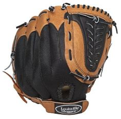 """Louisville Slugger 12-Inch Genesis Ball Glove (Right Hand Throw) by Louisville Slugger. $30.96. The GENB1200 is a 12"""" multi-position pattern with a closed back with Velcro strap, a closed channel web, and a genuine Buffalo leather palm. This glove provides durability with no break-in period. This glove is for a right-handed thrower.. Save 23% Off!"""