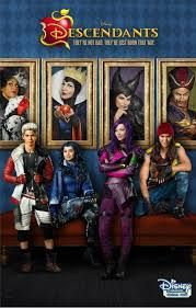 "Descendants"" Evie Evil Queen shadow ""Rotten to the Core . Disney S, Disney Movies, Disney Princess, Evil Villains, Disney Villains, Descendants 2015, Rotten To The Core, Cameron Boyce, Son Luna"