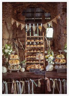 Assessoria para Casamentos e outros Eventos: Mesas de doces - idéias simples e simpáticas