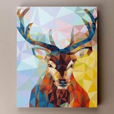 Chenistory Frameless Deer Animals Diy Painting By Numbers Wall Art Picture Handpainted Oil Painting For Home Decor Artwork Acrylic Painting Canvas, Diy Painting, Painting Frames, Canvas Wall Art, Painting Abstract, Diy Canvas, Arte Pop, Wall Art Pictures, Canvas Pictures