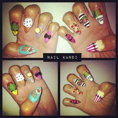 nails | accessories , art , nails , nails by Kandi