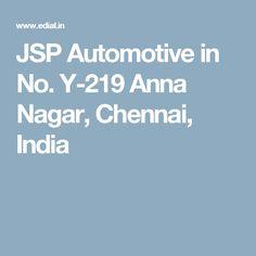 JSP Automotive in No. Y-219 Anna Nagar, Chennai, India