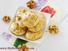 Naan Gerdooee ~ Persian Walnut Cookie