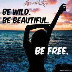 Happy Wednesday!! #MermaidLife #OverTheWaveWednesday #befree #mermaid #freedom  http://www.mermaidlife.me