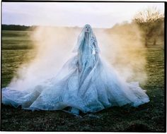 candentia: Kristen McMenamy by Tim Walker Dress and veil: Elie Saab Haute Couture S/S 2013 The Sunday Times Style September 2013 Richard Avedon, Editorial Photography, Art Photography, Fashion Photography, Jean Paul Goude, Tim Walker Photography, Foto Art, Snow Queen, Andy Warhol