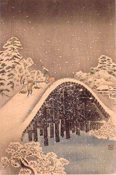 Shotei.com - - - Woodblock Prints of Takahashi Shôtei - - -
