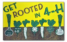 Tennessee 4-H Poster Art Contest State Winners