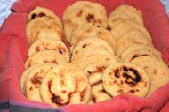 Basic Arepas - Venezuelan and Colombian Corn Cakes add parsley, garlic salt chili powder and appropriate seasonings