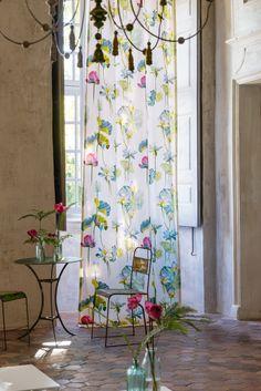 Svante's favourite print for the season-Fleur de Lotus