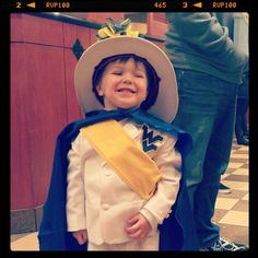 Future Mountaineer right there! What a great Halloween costume this would be!Photo Cred: @myaconile