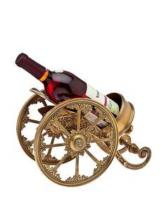 Godinger Recollection Chariot Bottle Holder at MYHABIT