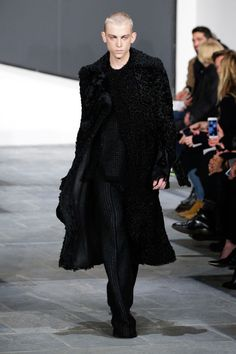 21-year-old Jelle Haen was the first ever male model to strut down the Proenza catwalk, and in heels!