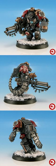 CoolMiniOrNot - Space Wolves Wolf Guard Terminator (Space Wolves Army) by kreativerlemming