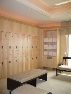 spa lockers -