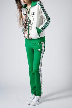 Tracksuit Top by Topshop x adidas Originals - Jackets Coats - Clothing -  Topshop a44f70c9bc