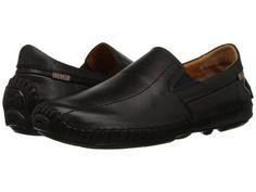 Pikolinos - Jerez Moccasin 09Z-5956 (Black Leather) Men's Slip on  Shoes
