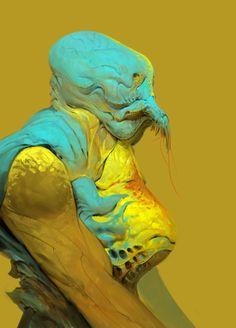 ArtStation - No one likes yellow., Anthony Jones