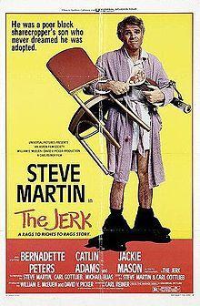 film, jerk, steve martin, funni, poster, book, stevemartin, favorit movi, black