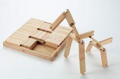 Building blocks via Petits petits tresors