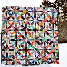 Sharing my finished #xplusalong quilt on the blog today! - @Holly DeGroot- #webstagram