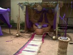 Photos:You Need Affordable&Classy Events Decoration In Nigeria?Check This - Adverts - Nairaland Traditional Décor, Nigerian Traditional Wedding, African Fashion Traditional, Traditional Wedding Decor, Africa Theme Party, Kente Dress, African Wedding Dress, 10th Birthday Parties, Wedding Stage