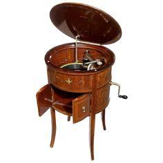 The Alba Cabinet Gramophone, c. 1925