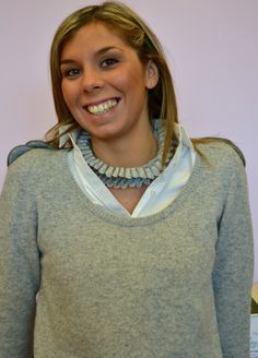 Angela wearing Carla Matos's Marquesa  necklace for Scicche www.scicche.it
