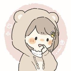Cartoon Kunst, Anime Kunst, Anime Art, Cute Anime Chibi, Kawaii Anime, Cute Anime Pics, Chibi Girl Drawings, Kawaii Drawings, Cute Art Styles