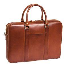 Soft briefcase – Cognac