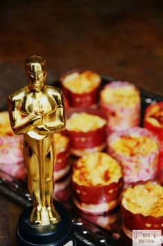 And the Oscar goes to... Delicious Finger Food for the Oscar Night!