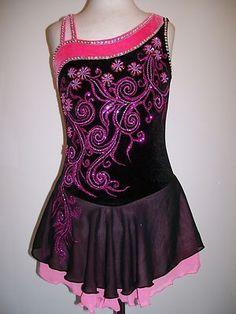 Customized Ice Skating Dress Baton Costume   eBay