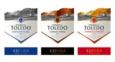 "Alex Kodimsky / Etiketka - ""Marques de Toledo""- Spanish wine — World Packaging Design Society / 世界包裝設計社會 / Sociedad Mundial de Diseño de Empaques"