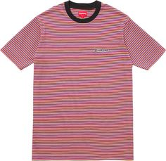 Image result for supreme striped tee
