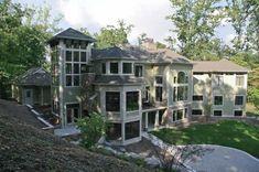 Traditional Exterior - Rear Elevation Plan #928-116 - Houseplans.com